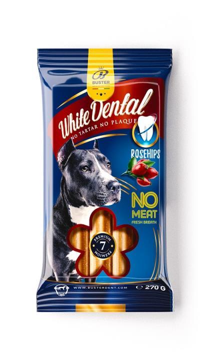 Buster White Dental Sticks Rosehips